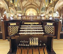 Casavant Pipe Organ St. John Cantius